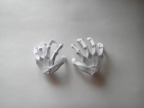 Как сделать скелет своими руками из бумаги схема