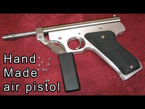 Как сделать пневмо пистолет в домашних условиях